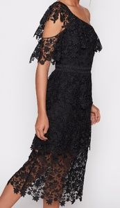 Joie Belisa One Shoulder Lace Tier Dress